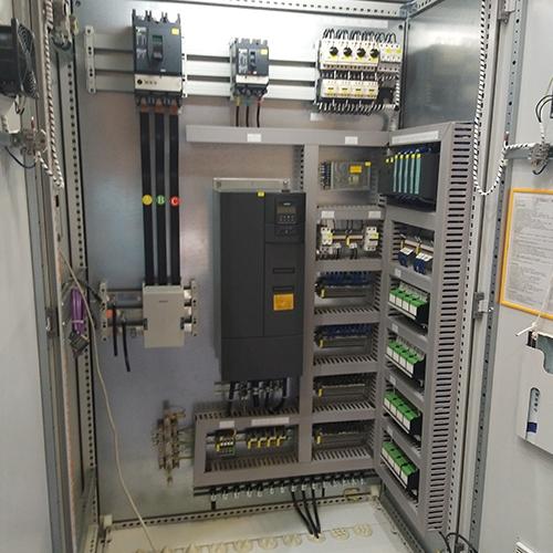 变频PLC联动集中控制柜